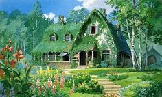 ジブリ : kikiの家