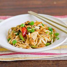 Chicken Recipe : Drunken Noodles with Chicken