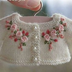 Patterns For Crochet Baby Shoes - Best Knitting Baby Knitting Patterns, Hand Knitting, Crochet Patterns, Kids Knitting, Embroidery Stitches, Embroidery Patterns, Hand Embroidery, Knitting Projects, Crochet Projects