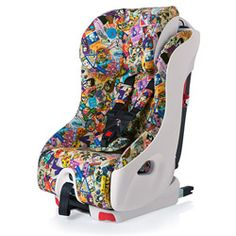 Look at this Clek Tokidoki Travel Foonf Convertible Car Seat on today! Forward Facing Car Seat, Extended Rear Facing, Cute Baby Pictures, Kids Seating, Future Baby, Baby Love, Convertible, Baby Car Seats, Children