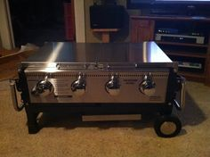 New grill...