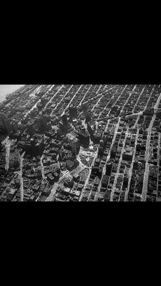Aerial Detroit, 1929