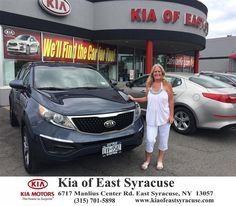 I just bought my 3rd KIA car from KIA of East Syracuse. Every car I have bought has been awesome. I have never had any major problems with any of them. My son has had a 2009 KIA SPECTRA for 6 years and he loves it. I have just bought my 2nd Sportage. This 2015 car is my first brand new car. Eduardo Castillo was so helpful in helping me pay off my other car so I could buy this new car. Everyone from the owner to used car guy made this big decision a happy one. Even when I was overwhelmed over…