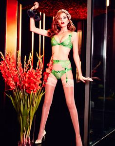 55cb5b691d Agent Provocateur Spring Summer 2015 by Ellen von Unwerth.