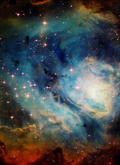 Lagoon Nebula - I dont imagine I will ever travel this far, but I might still be able to see it at the Planetarium.