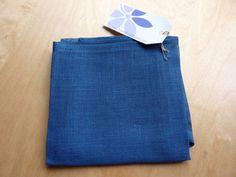 Serviettes de table en lin bleu sarcelle par LesEtoffesdInterieur Polo Shirt, Polo Ralph Lauren, Mens Tops, Shirts, Etsy, Fashion, Teal, Napkin, Towels