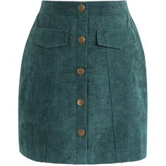 Chicwish Preppy Vibe Bud Skirt in Emerald Green (120 BRL) ❤ liked on Polyvore featuring skirts, green, chicwish skirts, green skirt, blue mini skirt, blue suede skirt and green suede skirt
