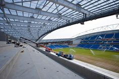 Twitter / BHASnappy: #EXTRASEATS 1st time I've set foot on the top tier proper. 1st impression, WOW what a quality view! #BHAFC