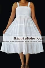 No.474 - Hippie Bohemian Gypsy Simple Wedding Dress, Small,Plus Size Clothing, Maxi Dress, Plus Size Dress, Plus Size Clothing, Plus Size Wedding DressProduct description   Material : Gauze Cotton  Length :38