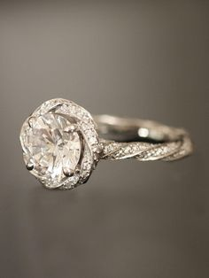 Vintage diamond Tiffany and Co. ring