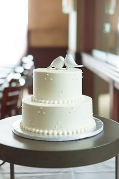 Blue And White Wedding Cakes Pictures