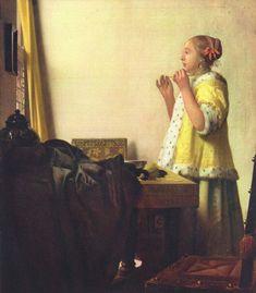 25 Most Popular Johannes Vermeer Paintings - Greatest Dutch Painter Johannes Vermeer, Delft, Vermeer Paintings, Renaissance, Dutch Golden Age, Dutch Painters, European Paintings, Dutch Artists, Old Master