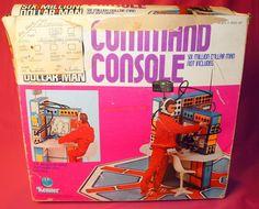 Command Console of Six Million Dollar Man Bionic man  Action Figure  #Kenner