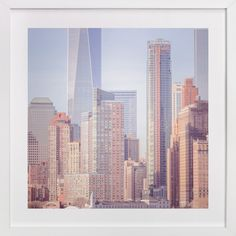 A distant skyline by Lisa Sundin at minted.com