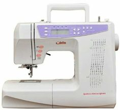 Sewing Machine 404 Electronic, 170 Stitches with Alphabet, Quilting Table, Quilting Foot, Hard Case + £150.00 Worth of FREE Accessories including 13 different Feet, Coats Moon Assorted Thread, 5 pairs of Scissors, Cut + Sew, Travel Sewing Kit, Needles, Bobbins etc...: Amazon.co.uk: Kitchen & Home