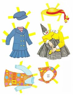 Paper Dolls~Tutti Blue Folder - Bonnie Jones - Álbumes web de Picasa
