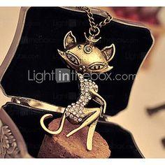 epocă colier femei diamante - USD $2.99