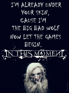 Big Bad Wold by In This Moment