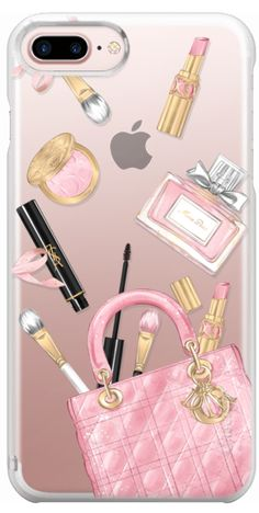Casetify iPhone 7 Plus Case and iPhone 7 Cases. Other Beauty iPhone Covers - Makeup Addict by Frou Frou Craft | Casetify