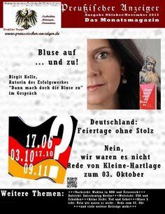 Preussischer Anzeiger: Das politische Monatsmagazin - Ausgabe Oktober / Dezember von Hagen Ernst, http://www.amazon.de/dp/1492960047/ref=cm_sw_r_pi_dp_YFvxsb1FV4VRP