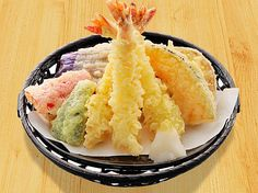 Prawn and Veggies Tempura Recipe http://www.1mrecipes.com/prawn-and-veggies-tempura/  More healthy recipes from around the world at www.1mrecipes.com