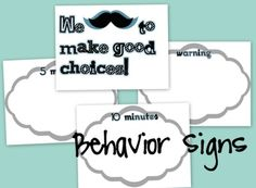 """I """"mustache"""" you... A Classroom Decor Packet image 4"""