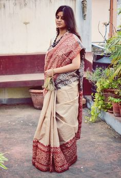 Tussar, Cotton and Matka Sarees Collection from Moksha