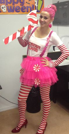 Mr. Mint from Candy Land costume! Style DIY costumes with this super fun, easy too!