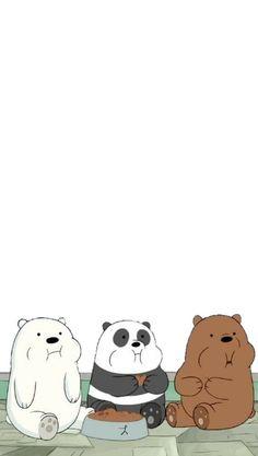 We bare bears ❣️ Cute Panda Wallpaper, Snoopy Wallpaper, Funny Iphone Wallpaper, Cute Disney Wallpaper, Kawaii Wallpaper, Cute Wallpaper Backgrounds, We Bare Bears Wallpapers, Panda Wallpapers, Cute Cartoon Wallpapers