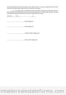 Printable Sample Closing Disclosure Conditional Release  Form
