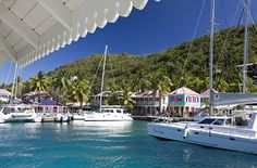 Sopers Hole Marina is five minutes from Frenchmans Resort