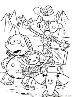 rudolph the red nosed reindeer movie coloring pages - Google ...
