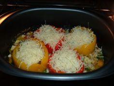 Gemüse : Paprika gefüllt im Ultra - Pro