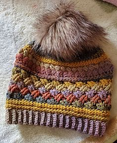 Ravelry: My Michelle Beanie pattern by Hooked by Holtby