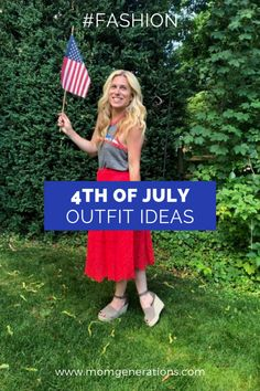 17c7eaa8eb71e 4th of July Outfits - Mom Generations | Audrey McClelland | Stylish Life  for Moms