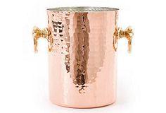 Hammered Copper Wine Bucket. one day.