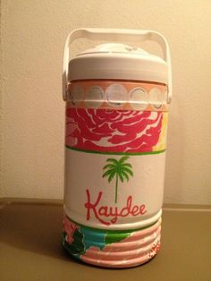 Lillz Kappa Delta Cooler Idea!