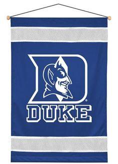 Duke Blue Devils Sidelines Wall Hanging