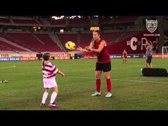 VIDEO: Samantha Gordon's big day with Team USA. (U.S. Soccer)