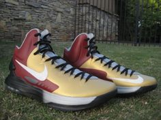 "Nike KD V ""Iron Man 3"" Customs by KSM"