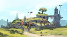 World Setting #fantasy #environment #buidling