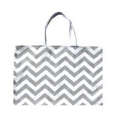 "Grey Tote Bag , Gray Beach Bag , Grey Chevron Tote, Grey Chevron Bag-17"" x 13"" on Etsy, $18.00"