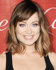 Collarbone-length bob with soft fringe and clean edges