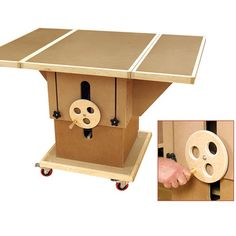 Assembly Table Woodworking Plan by Woodcraft Magazine