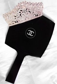For a Queen that loves her Chanel lol (if the crown fits). Moda Chanel, Photowall Ideas, Boujee Aesthetic, Princess Aesthetic, Fancy, Chanel Fashion, Rich Girl, Tiaras And Crowns, Classy And Fabulous