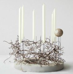 basteln-mit-beton_dekoideen-weihnachten-mit-DIY-Weihnachtskranz-und-bastelidee-weihnachten You are in the right place about DIY Wreath boho Here we offer you the most beautiful pictures about the DIY Christmas Makes, Modern Christmas, Christmas Wreaths, Christmas Crafts, Christmas Decorations, Xmas, Christmas Ornaments, Christmas Christmas, Advent Wreath