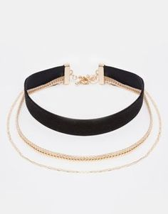 Enlarge River Island Velvet And Chain Multirow Choker Necklace Diy Choker, Black Choker Necklace, Pearl Necklace, Basket Michael Kors, Cute Jewelry, Jewelry Accessories, Jewelery, Jewelry Necklaces, Glass Jewelry