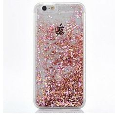 Pretty Rose Gold Cascading Flakes Hard Case for your iPhone. - High Quality - High Quality - Protective Hard Case - Easy Access to Ports - Available for iPhone 5 5S SE 6S 6 Plus