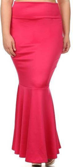 "Image of Plus Size ""Bliss"" Mermaid Skirt"