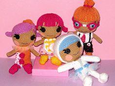 Loopsies7 (ladynoir63) Tags: doll crochet amigurumi crocheted littles lalaloopsy